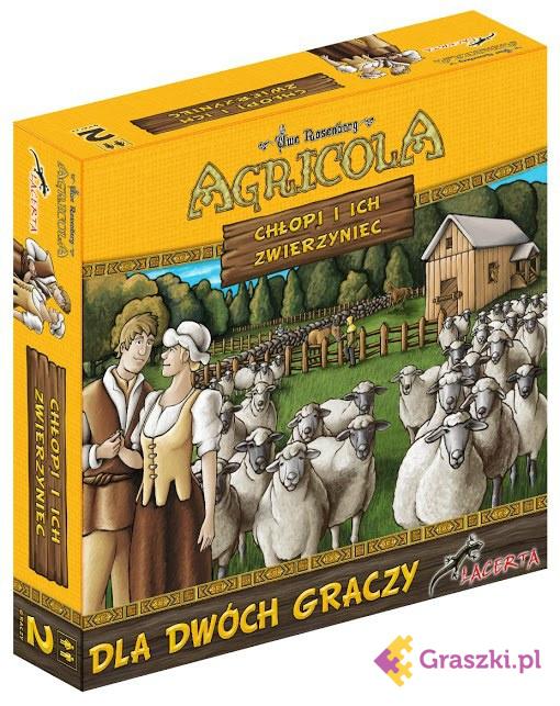 Agricola: Chłopi i ich zwierzyniec | Lacerta